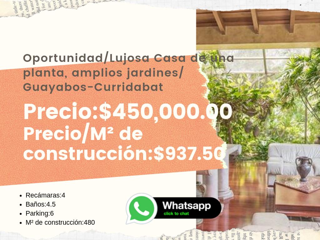 Casa en Guayabos