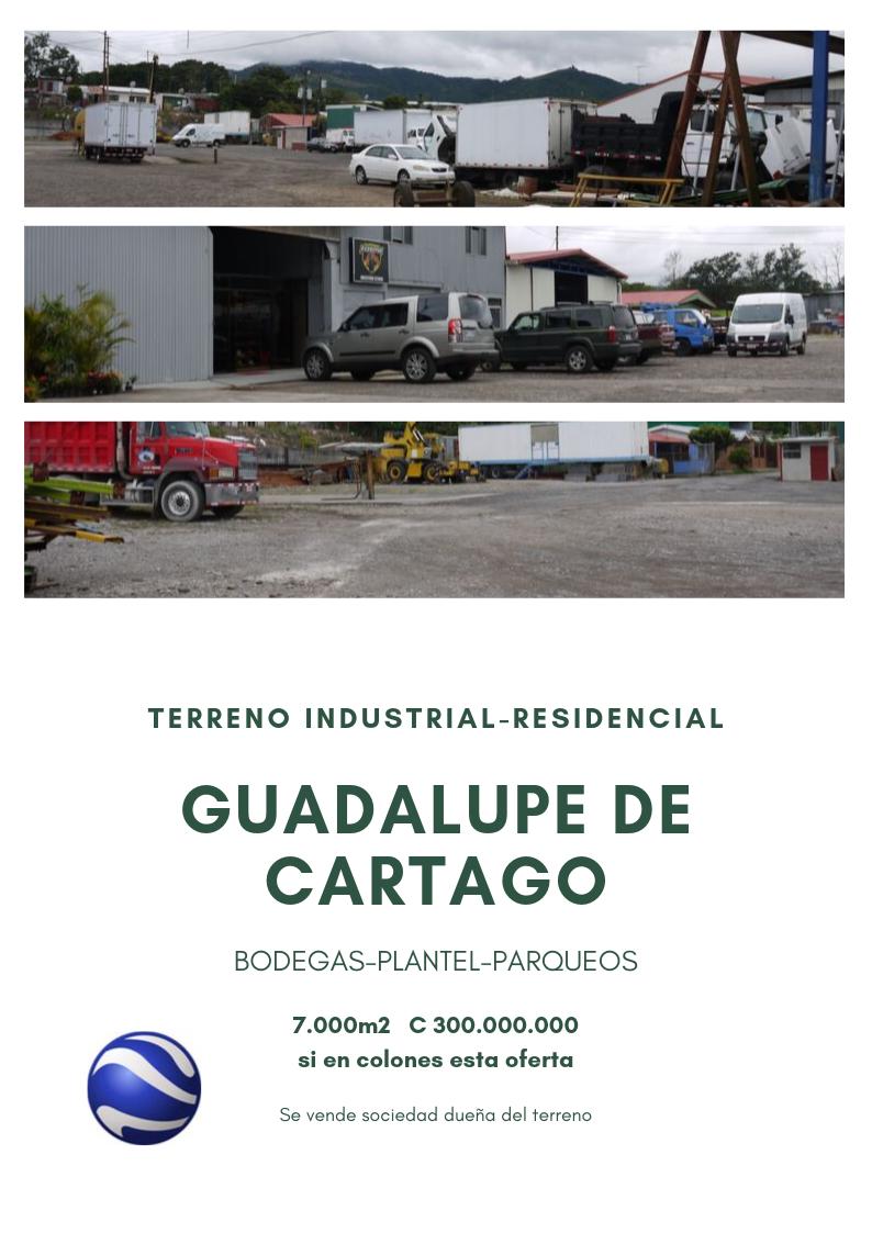 terreno industrial-residencial
